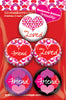 Matheena Love Buttons