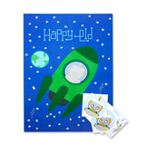 Rockets 'n Robots Eid Pin-It Party Game