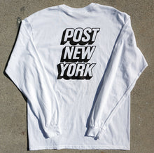 Load image into Gallery viewer, Post New York long sleeve white