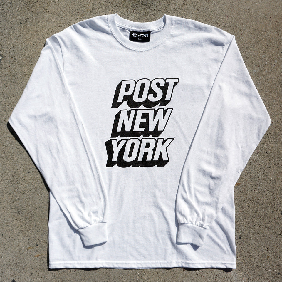 Post New York long sleeve white