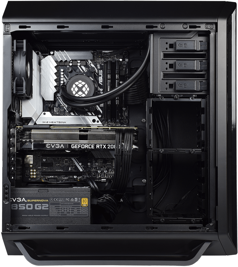 Back internal view of 800 PRO