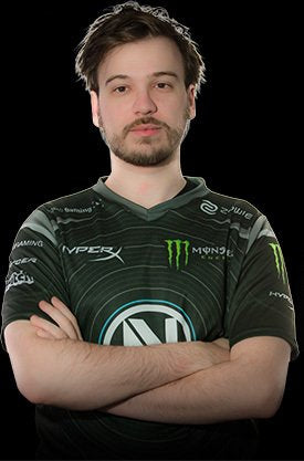 Envy US player 'Happy' wearing jersey.