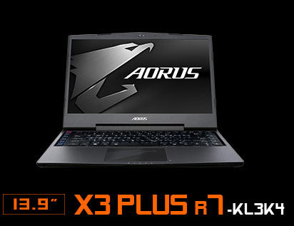 Image of AORUS X3 PLUS R7-KL3K4. 13.9 inch.