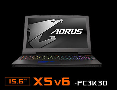Image of AORUS X5 v6-PC3K3D. 15.6 inch.
