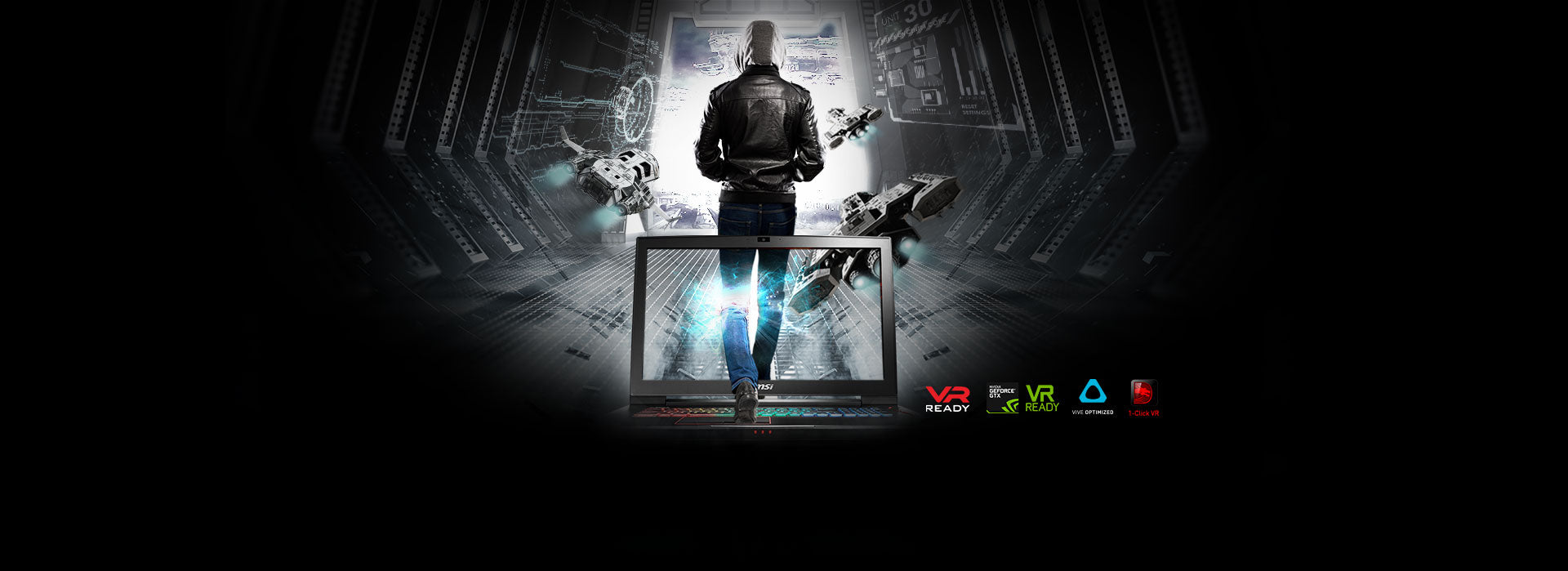 VR Ready. NVIDIA GeForce GTX VR Ready. VIVE Optimized. 1-Click VR.