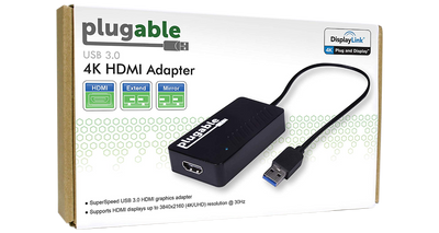 2x USB 3.0 4K Video Adapter