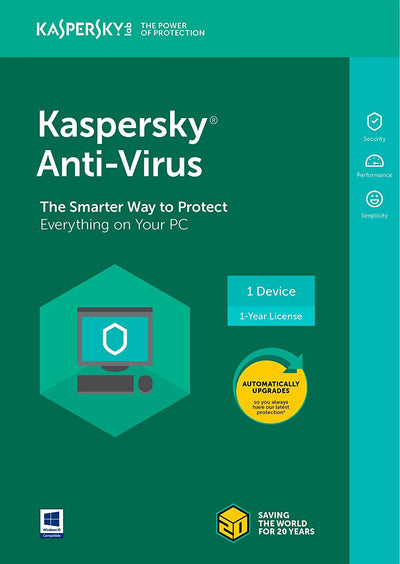 Kaspersky Lab™ Anti-Virus 2018