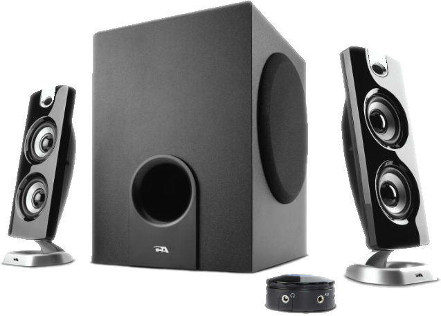 Cyber Acoustics CA-3602a 62W Speaker & Subwoofer