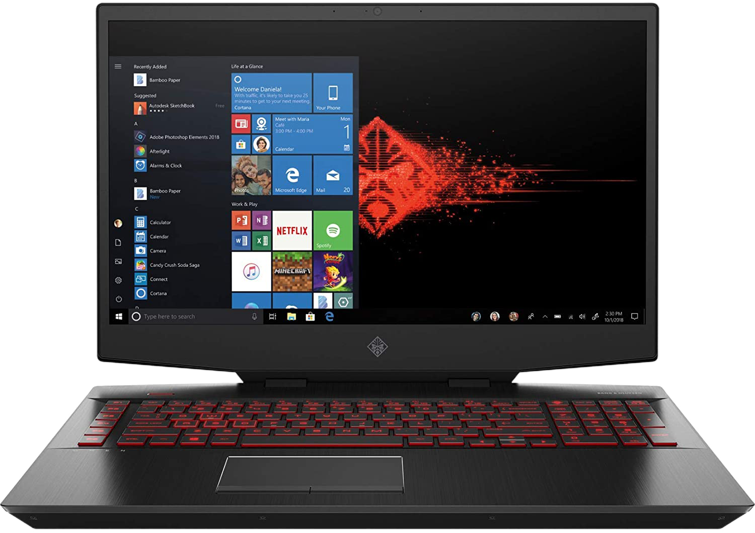 HP OMEN - 17t 2070 SUPER