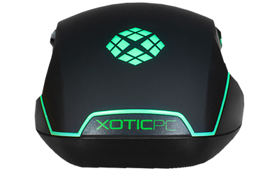XOTIC PC Mortar 8 Button Gaming Mouse with 4000DPI & RGB Control