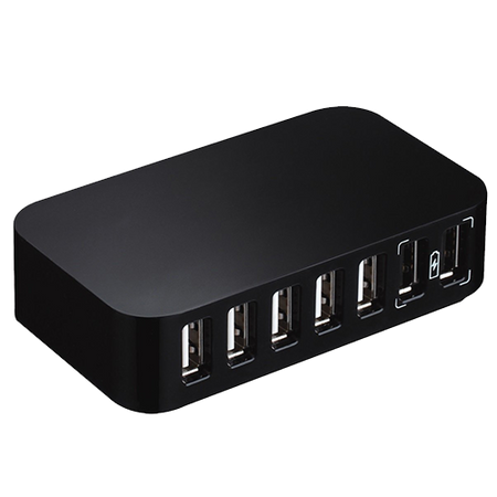 10 Port Powered USB Hub