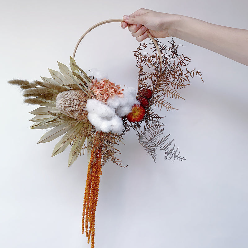 Natural Vibes Wreath