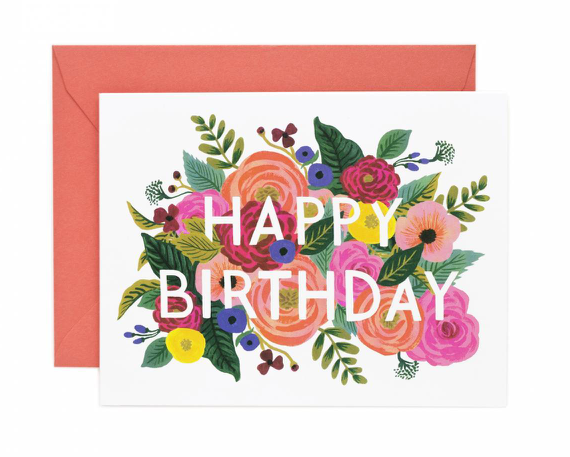 Birthday Bouquet Card