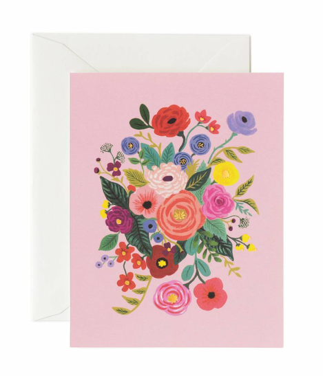 Rose Flower Garden Card