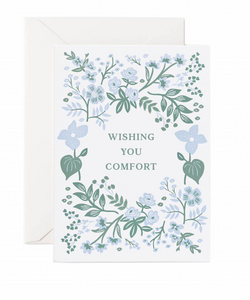 Wishing You Comfort Card