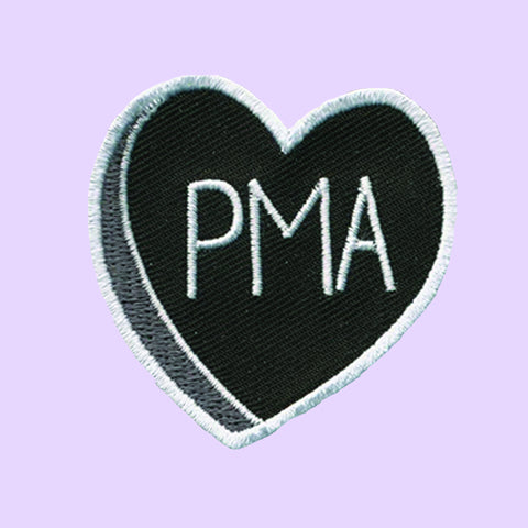Valentine Yourself PMA Embroidered Patch