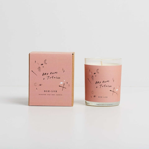 Bon Lux BAY RUM & TOBACCO Votive Candle