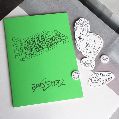 Bad Buzz 'Free Wall Space' Zine