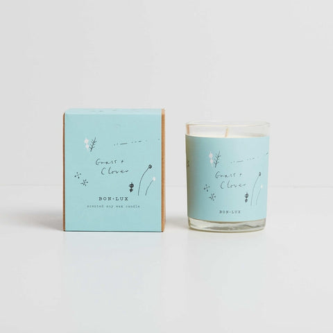Bon Lux GRASS & CLOVER Votive Candle