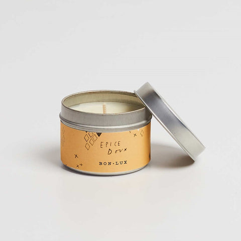 Bon Lux EPICE DOUX Travel Tin Candle