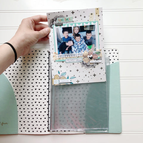 PREORDER Scrapbook Insert for Traveler's Notebook (6x8 Size)