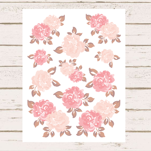 Printable Florals | August 2020
