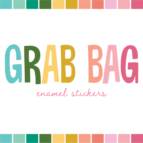 Grab Bag | Enamel Stickers