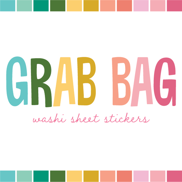 Grab Bag | Washi Sheet Stickers