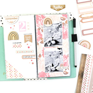 Scrapbook Insert for Traveler's Notebook (Standard Size)