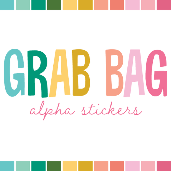 Grab Bag | Alpha Stickers