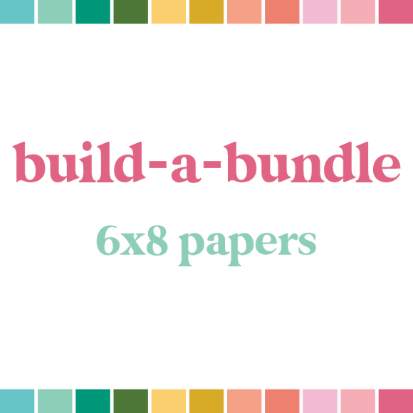 Build a Bundle | 6x8 Papers (monthly auto-ship)