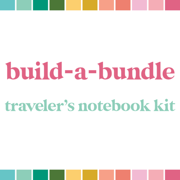 The Traveler's Notebook Scrapbook Bundle (monthly auto-ship)