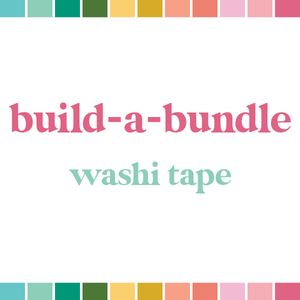 Build a Bundle | Washi Stickers (monthly auto-ship)
