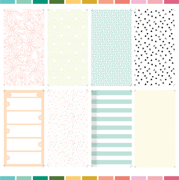 Printable Traveler's Notebook Paper | March 2020