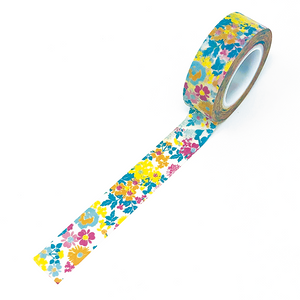 Washi | Colorful Spring Floral