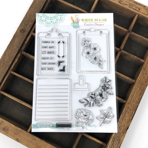 PREORDER Stamps | Clipboards by White Sugar Designs