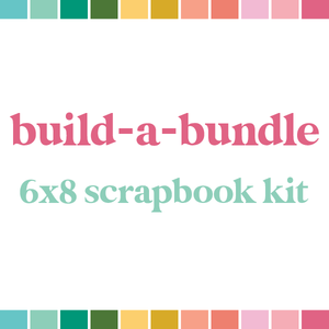 The 6x8 Scrapbook Bundle (monthly auto-ship)