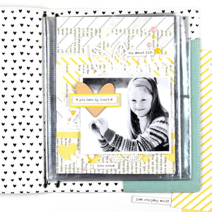 6x8 Scrapbook Insert for Traveler's Notebook