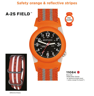 Bertucci Orange Safety Watch