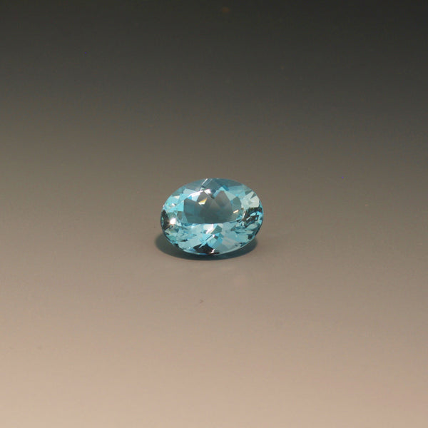 Natural Oval Aquamarine