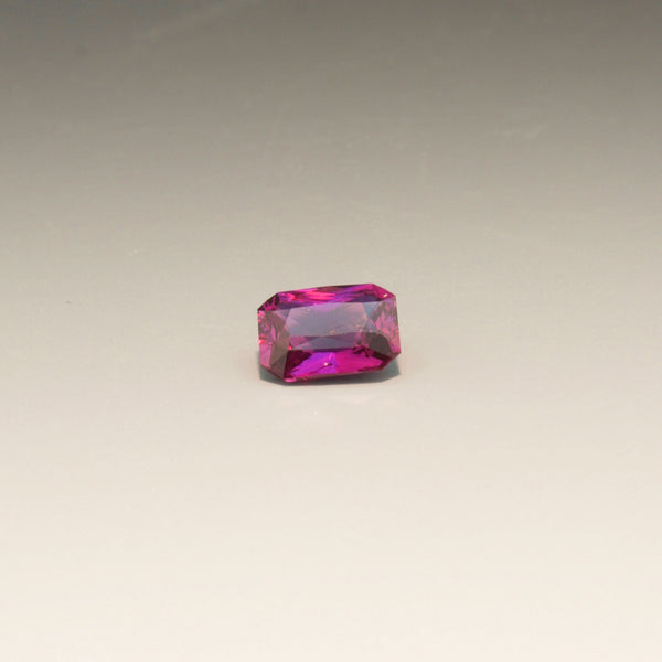 Natural Radiant Cut Magenta Sapphire