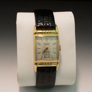 14K Yellow Gold Plated Vintage Longines Watch