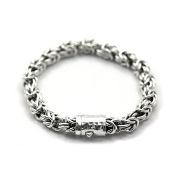 Fair Trade Sterling Silver Byzantine Chain Bracelet