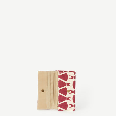Anu Dressember Print Cotton Wallet