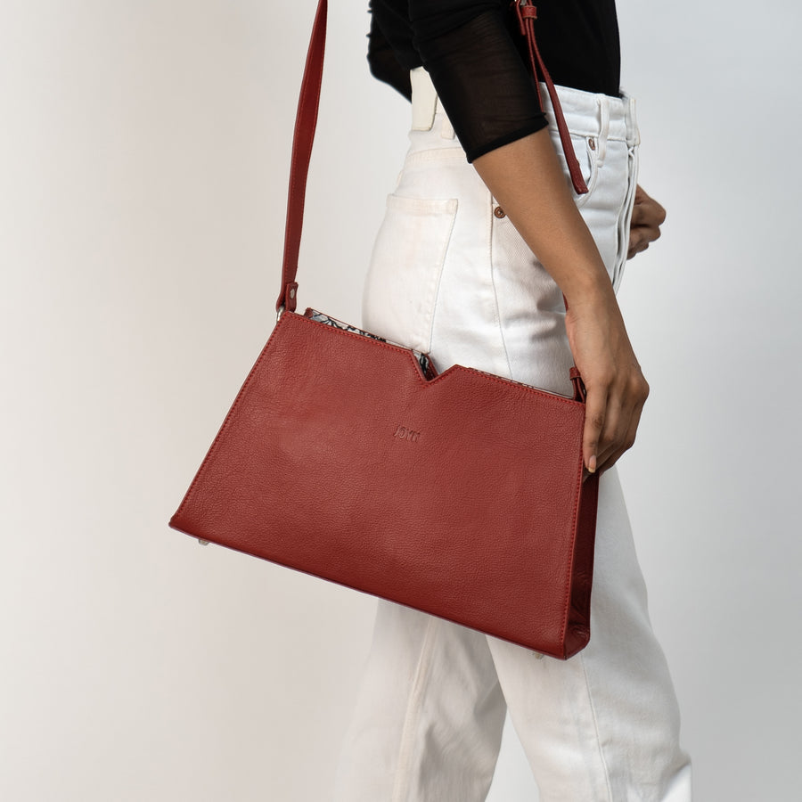 Boss Lady Red Crossbody