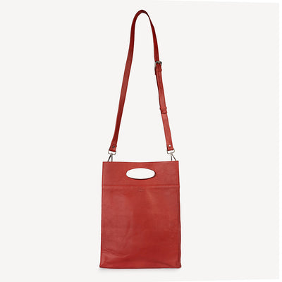 Boss Lady Red Tote