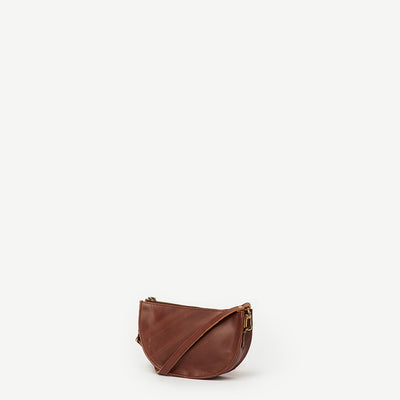 Esha Leather Crossbody Signature Print