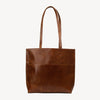 Everyday Tote in Brown Leather