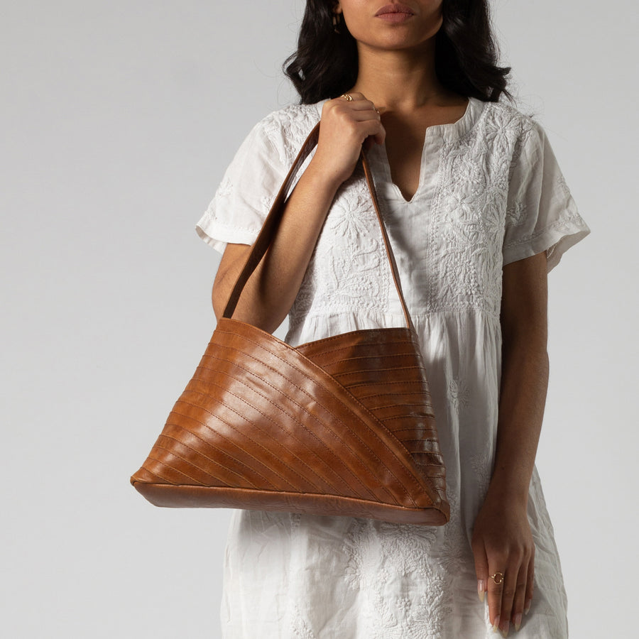 Crisscross Shoulder Bag
