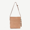 Tamanna Blush Suede Tote